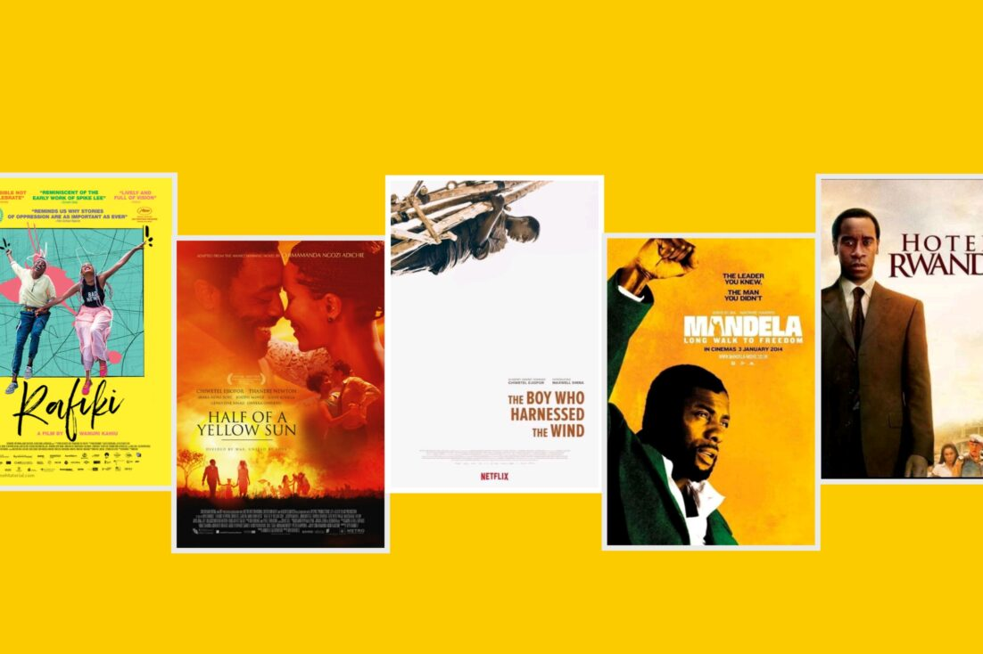Art showing Movies about Africa on netflix