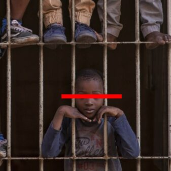 Nigeria child prisoners image